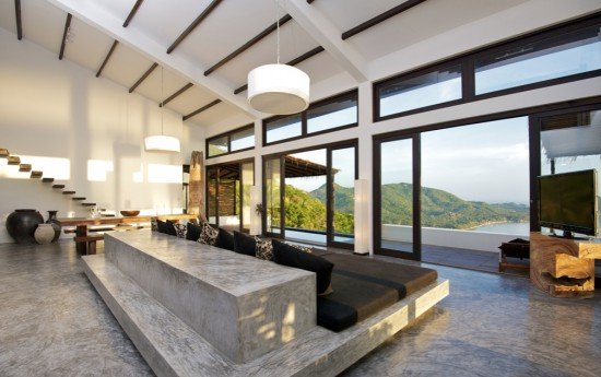 Beautiful Betonvloer Verven Woonkamer Contemporary - New Home Design ...